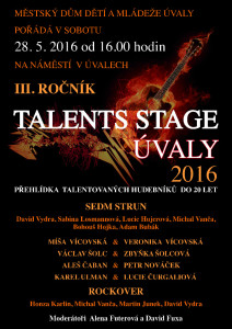 TALENT STAGE UVALY16